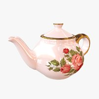3D model tea pot