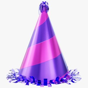 party hat 3D model