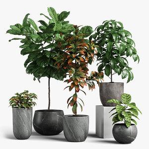 plants set 11 model