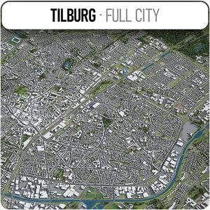 3D tilburg surrounding area -