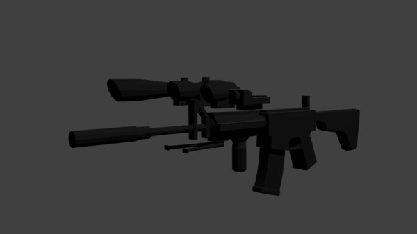 weapon pack 3D