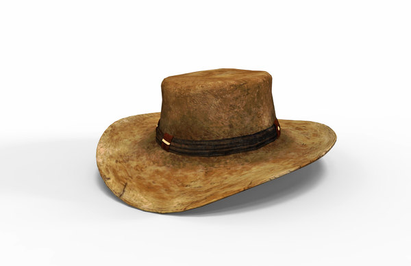 realistic cowboy hat model
