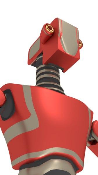 robot character 3D model
