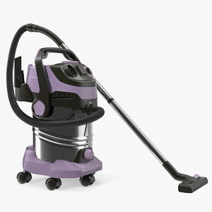 3D industrial vacuum cleaner cleaning