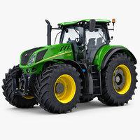3D model new tractor generic