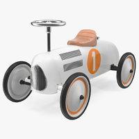 retro push car 3D