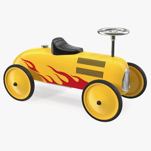 vintage push car model