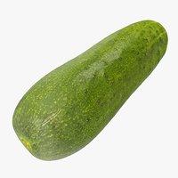 cucumber 07 3D model