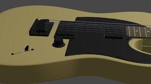 electric guitar telecaster model