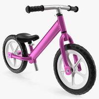 3D balance bike generic