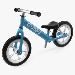 3D model cruzee ultralite balance bike