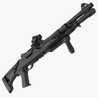 3D tactical benelli m1014 short