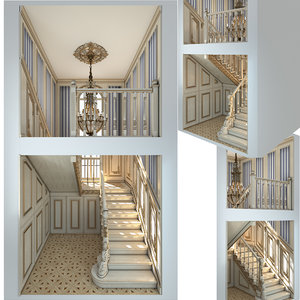3D stair classic
