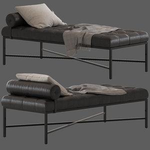 coco republic jonathan lounge 3D model