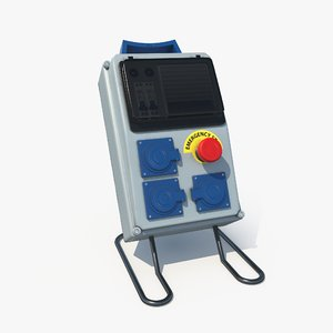electric panel 3D