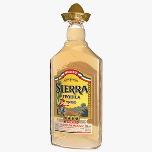 sierra tequila reposado 3D model