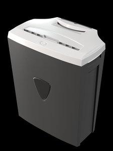 shredder paper 3D model