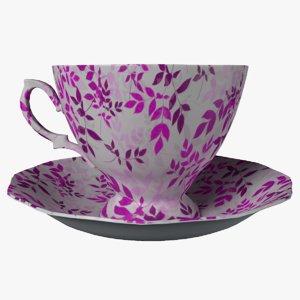 cup coffee drink 3D model