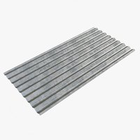 metal roofing sheet 3D model