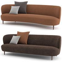 Stay Sofa Wood base by GUBI