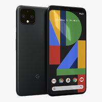 google pixel 4 just 3D model