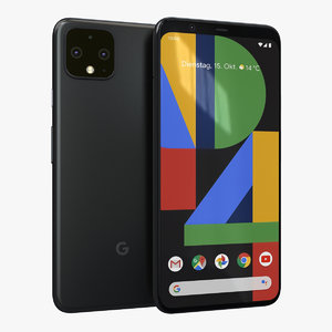 google pixel 4 just 3D model