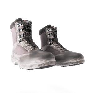 scanned male black boots model