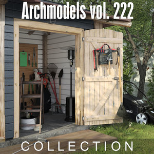 3D archmodels vol 222