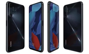 3D model huawei nova 5t black