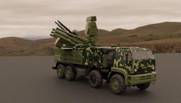 3D model panzer s1