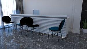 office work 3D model
