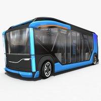 electric bus 3D