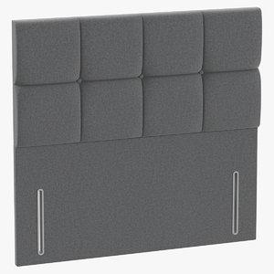 headboard 03 grey model