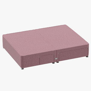 3D bed base 08 blush