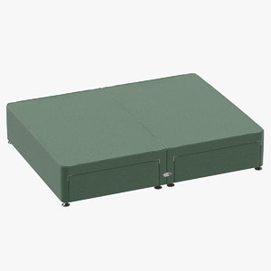 bed base 09 mint 3D