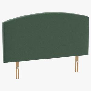 headboard 11 mint 3D model