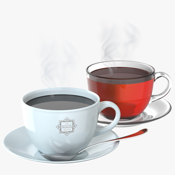 tea coffee cup model