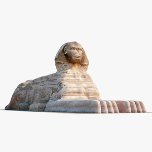 great sphinx giza model