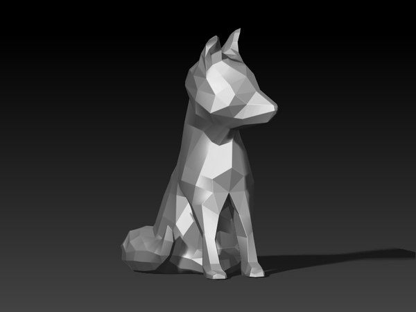 3D wolf baby