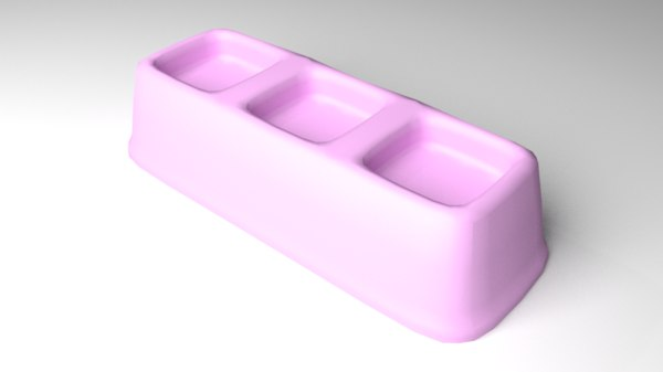 3D model pet feeder 4