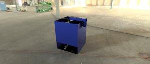 dryer machine industrial 3D model
