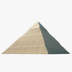 3D pyramid khafre