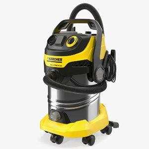 karcher wd6 multi-purpose vacuum cleaner 3D