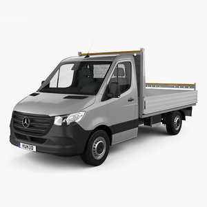 3D mercedes-benz sprinter single