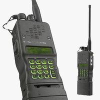 military walkie talkie dirty 3D