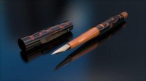 3D fountain pen