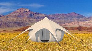 yurt tent 3D model