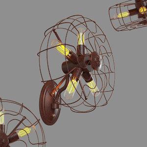 3D model loft blowhole loft1836w light