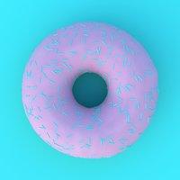 donut sprinkles model