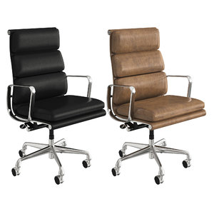 3D model eames executive soft pad